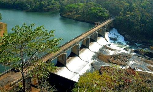 Banasura Sagar Dam shutters
