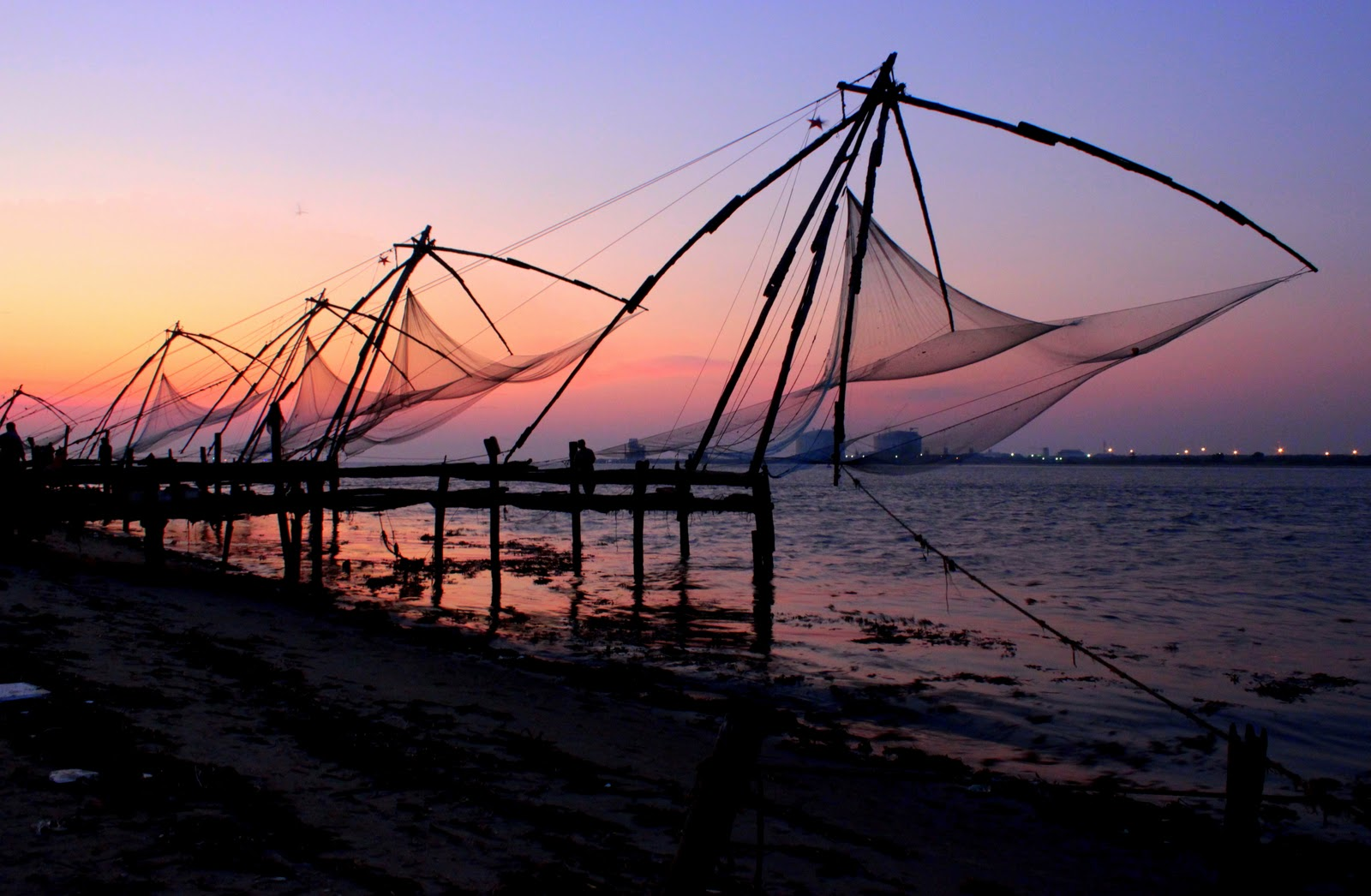 Image result for chinese fishing nets cochin