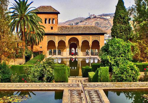 Generalife tourmet for Los jardines del califa