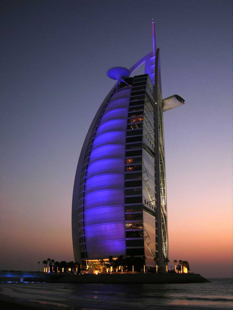 4 nights dubai with burj khalifa and high tea at burj al for Burj arab dubai