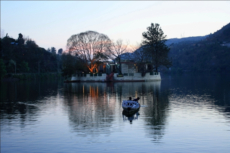 Lake at Bhimtal