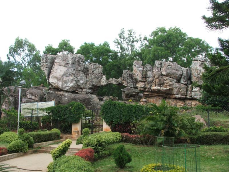 Silathoranam or Rock Garden