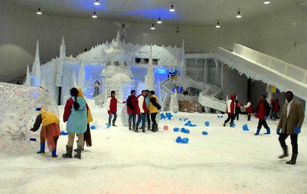 Snow Park Tourmet