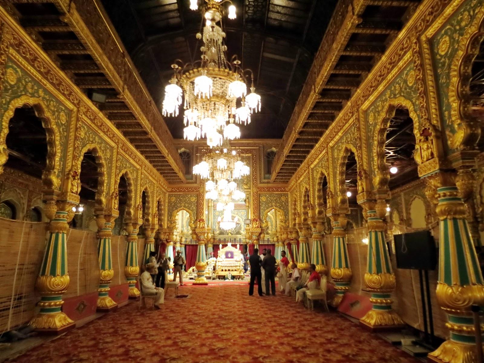 Mysore Maharajah S Palace Amba Vilas Tourmet